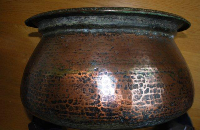 Dating antique copper pots
